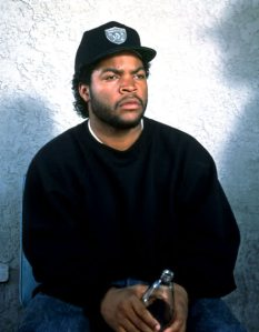 Aug 01, 1991; Hollywood, CA, USA; Actors ICE CUBE stars as Doughboy in the criminal drama 'Boyz N the Hood' directed by John Singleton.