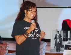 Huston Tillotson University Professor and Community Integrator: Gina Tillis